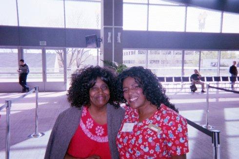 Mama and crysty- Diabetes seminar 3/2014 Love you mama!