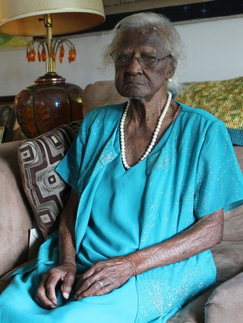 Jeralean Talley- 115 years old today!